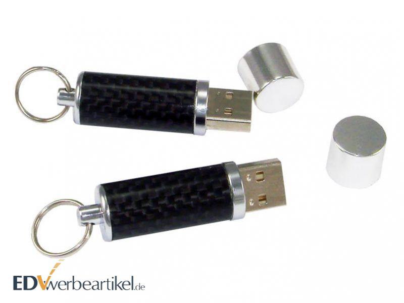 Carbon USB Stick als Werbegeschenk