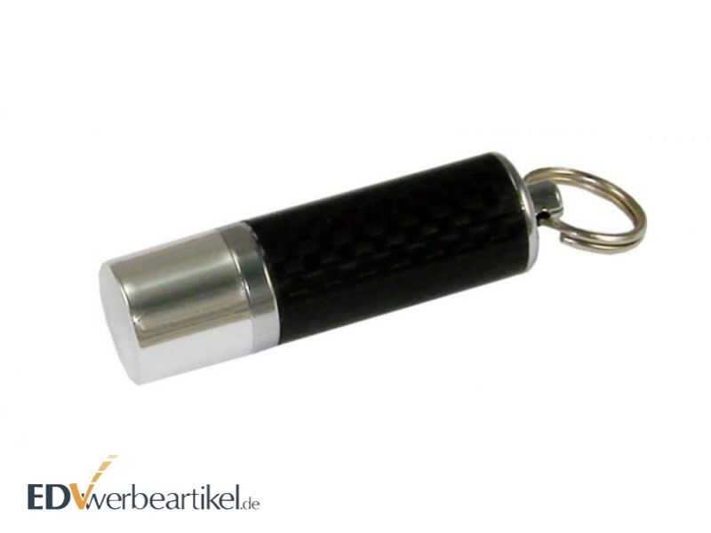 USB Stick mit Logo - Carbon