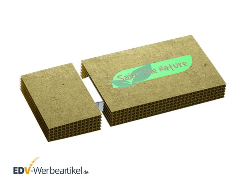 USB Stick CARDBOARD - perfekt als grüner Werbeartikel oder Streuartikel