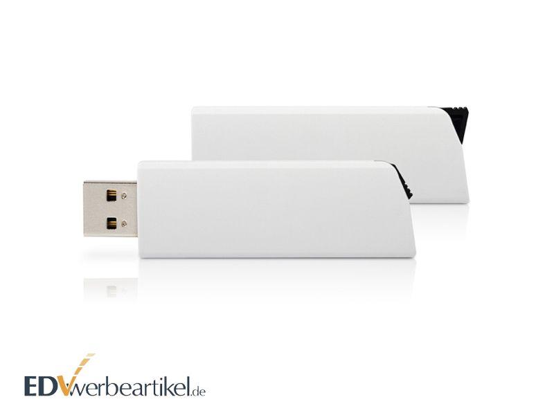 USB Stick mit Logo Click als Werbeartikel