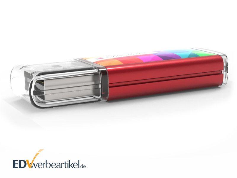 USB Stick mit Doming als Werbegeschenk