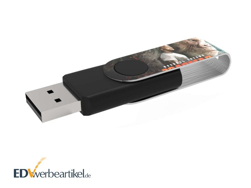 USB Stick Drehbügel FLIP FULL PRINT