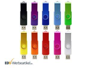 USB Stick FLIP COLOR mit Ihrem Logo bedrucken oder gravieren