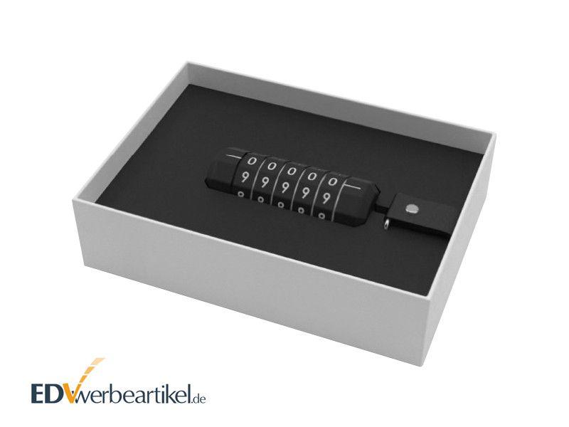 USB Stick Geschenkverpackung LOCKED
