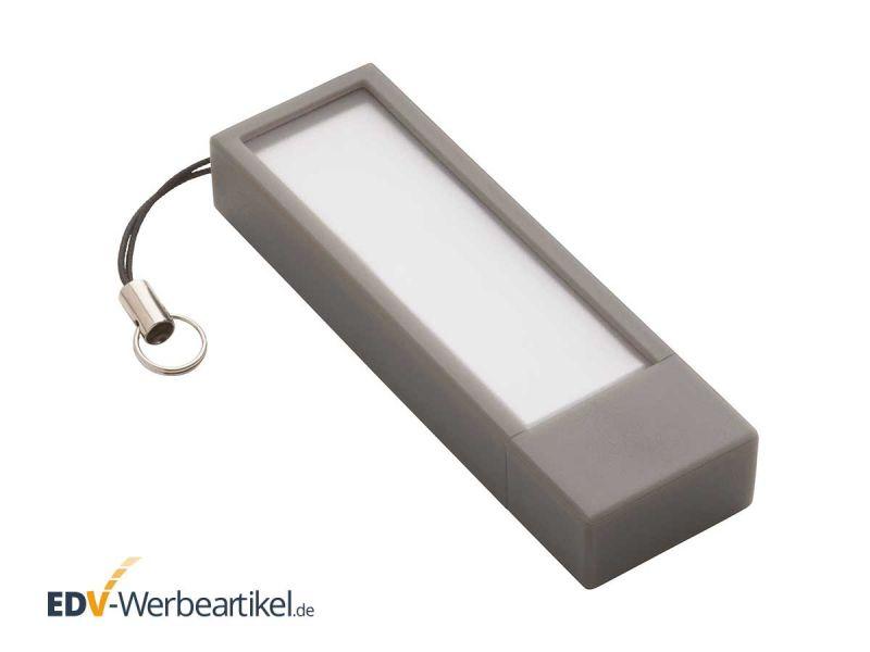 USB Stick mit Klebezetteln STICKY grau grey