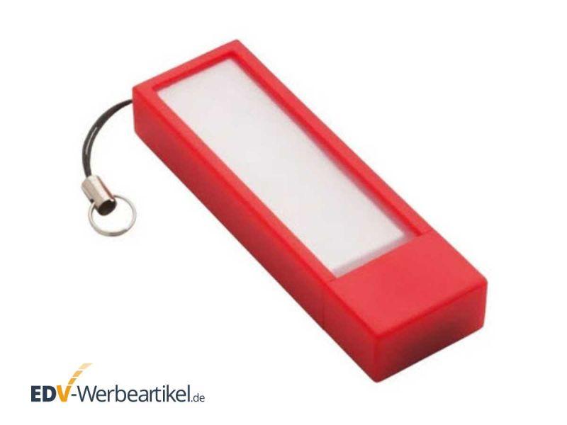 USB Stick mit Haftnotizzetteln STICKY rot red