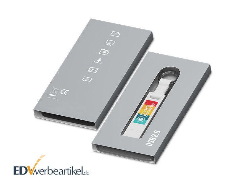 USB Stick BRIDGE in Verpackung mit Sichtfenster
