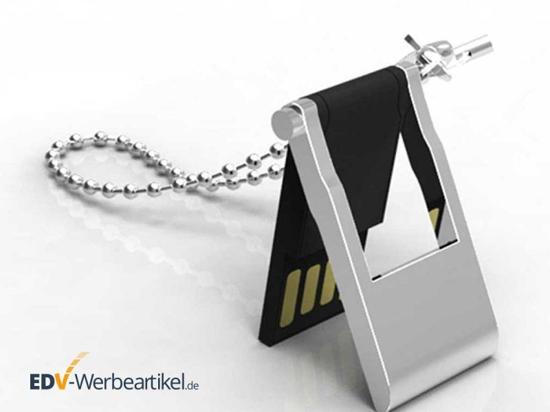 mini USB Stick zum Klappen als Schlüsselanhänger