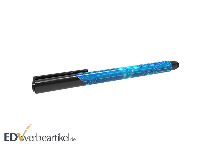 USB Kugelschreiber E-CLIPSE mit Touchpen