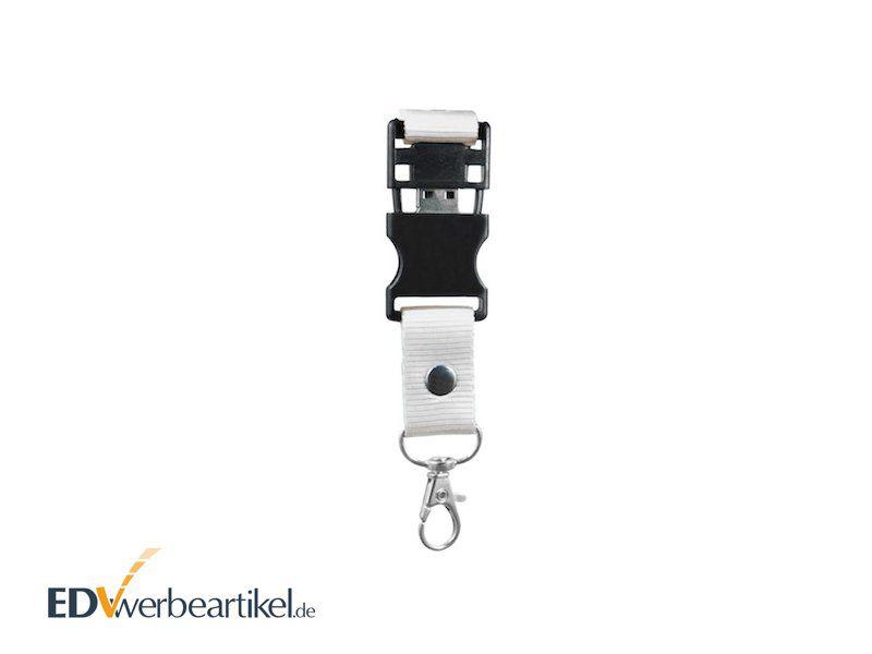 USB Stick Lanyard Schlüsselband bedrucken als Werbeartikel Werbemittel mit Logo