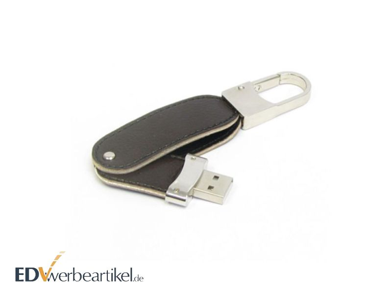 USB Stick Leder als Luxus Werbeartikel
