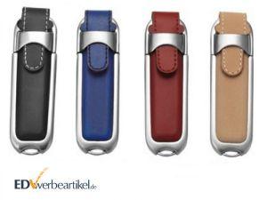 USB Stick Leder Werbeartikel bedrucken gravieren