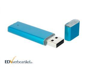 USB Stick mit Logo Gravur ALU COLORED