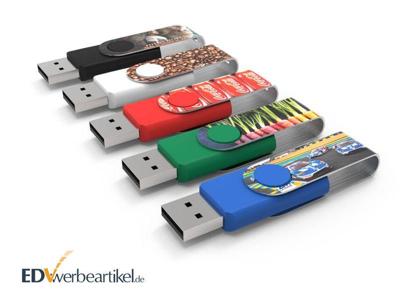 USB Stick Max Print FLIP FULL PRINT als Werbemittel