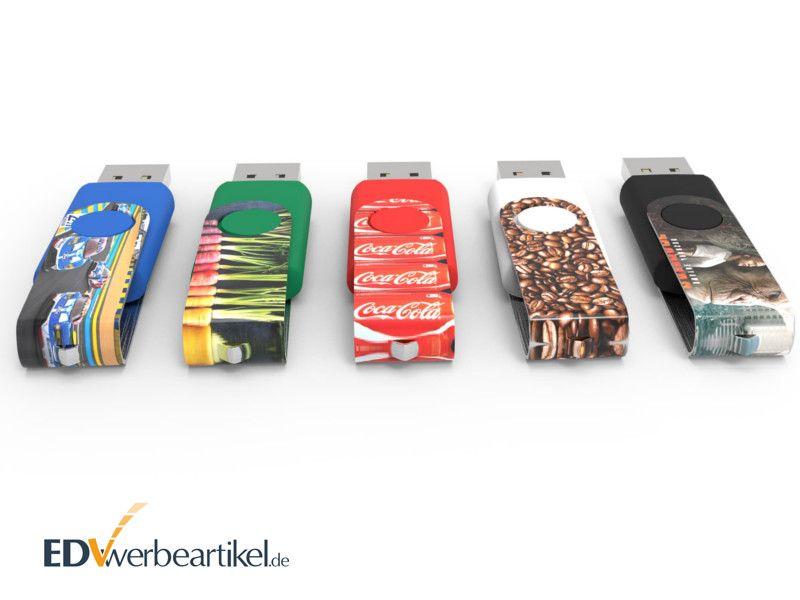 USB Stick Twister Maxprint als Werbegeschenk