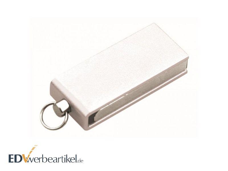 Mini USB Stick Anhänger als Werbeartikel mit Logo