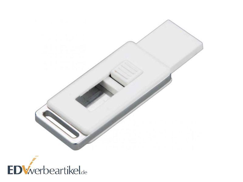 Mini USB Stick aus Plastik mit Logo bedrucken - Werbegeschenk