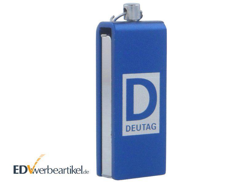 USB Stick Mini mit Logo als Werbeartikel Anhänger