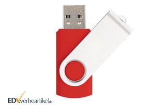 USB Stick mit Logo bedrucken - Flip, Swing, Twister Werbeartikel Werbemittel Werbegeschenk