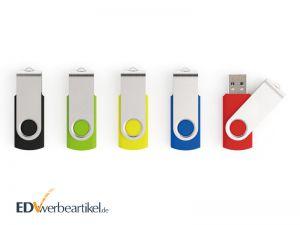 USB Stick mit Logo bedrucken als Werbemittel - Flip, Twister, Switch