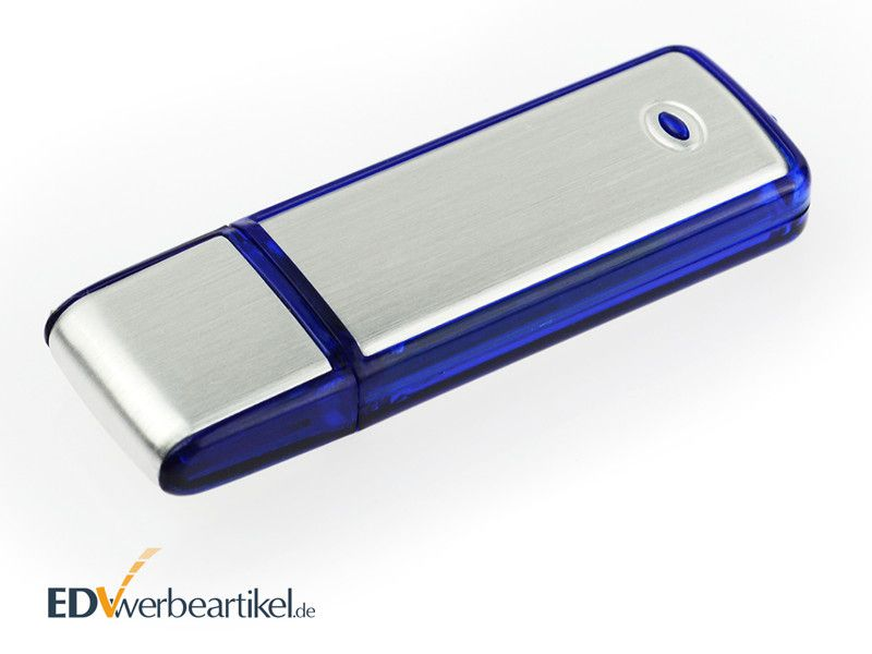 USB Stick mit Logo Werbeartikel Simple Alu ONE