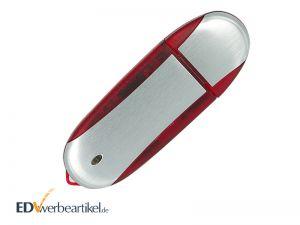 USB Stick mit Logo Werbegeschenk bedrucken Simple Alu TWO