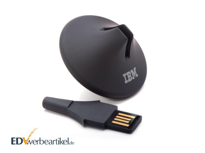 USB Stick mit Logo als Kreisel