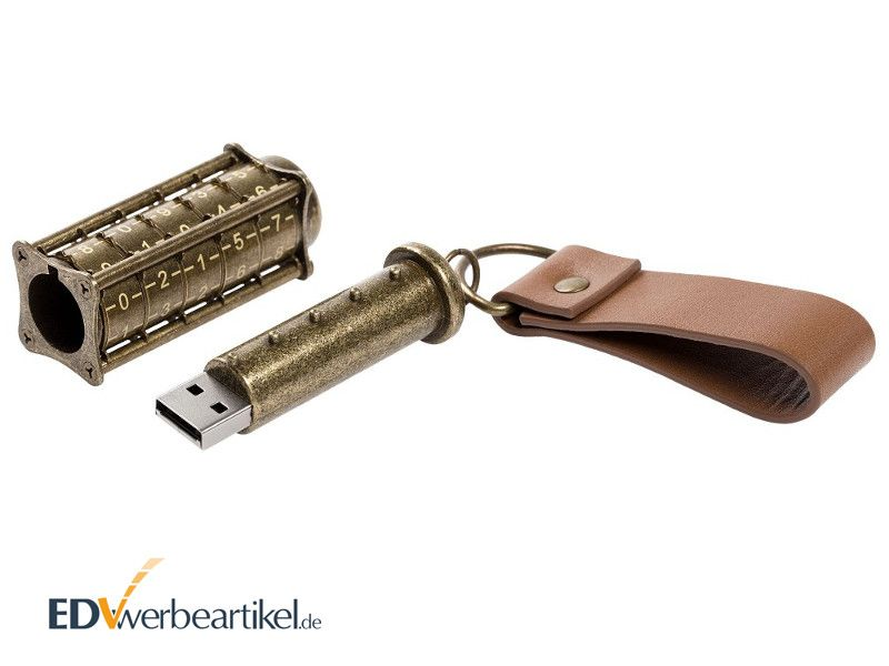 USB Stick Mittelalter LOCKED ANTIQUE als Werbemittel