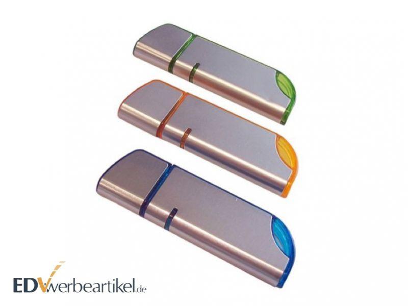USB Stick mit Logo als Werbemittel - Aluminium