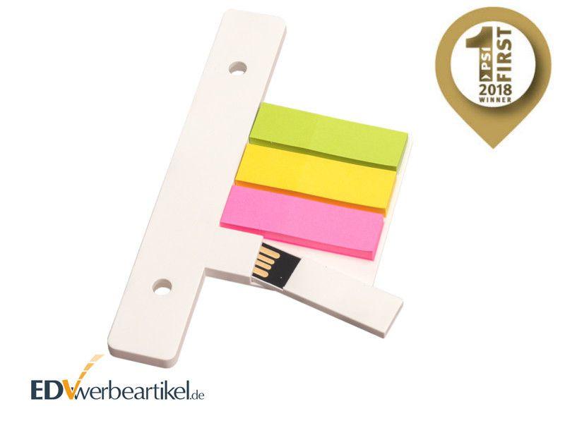 USB Stick ORDNER mit Haftnotizen bedrucken