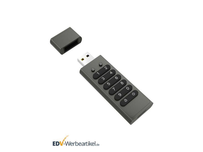 USB Stick SAFEGUARD Werbeartikel 256-Bit Verschlüsselung