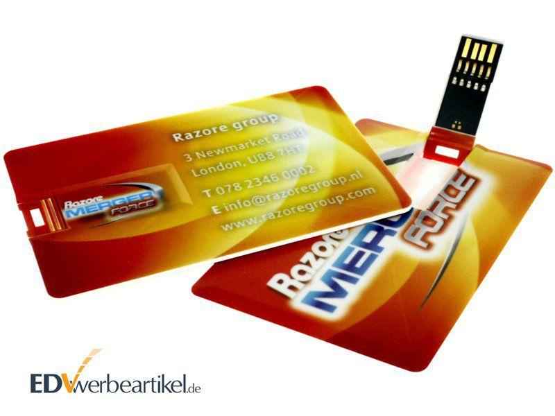 USB Stick Scheckkarte 3.0 Werbeartikel