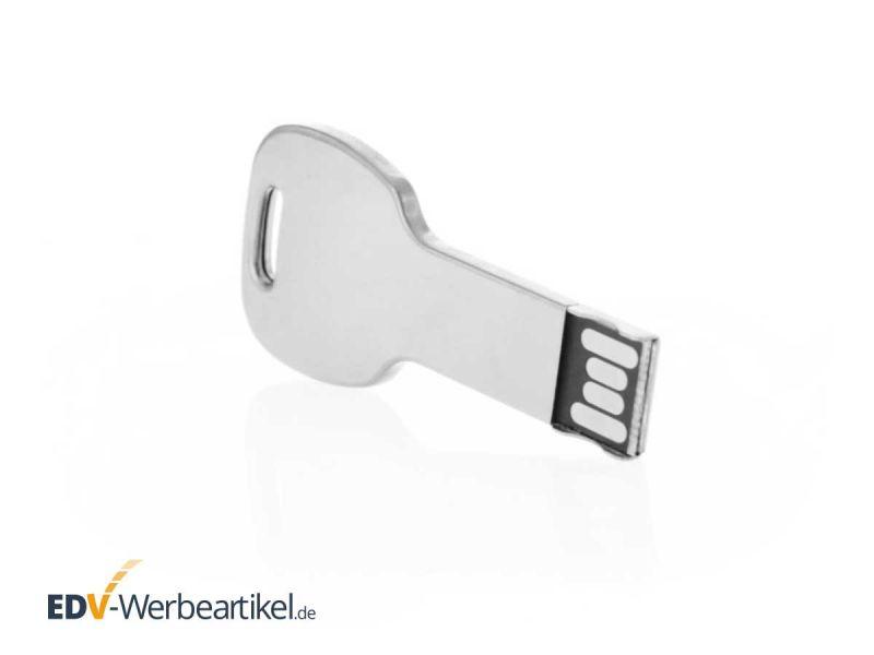 USB Stick Schlüssel KEY aus Aluminium