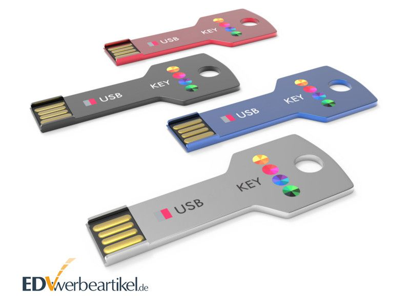 USB Stick Schlüssel bedrucken