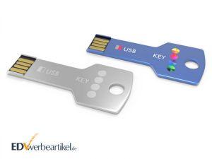 USB Stick Schlüssel als Werbegeschenk - eckiges Modell