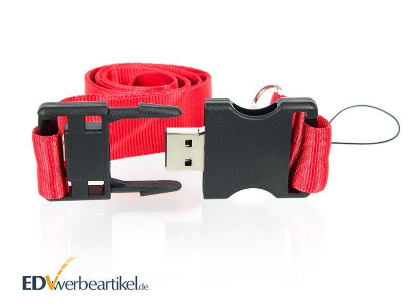 USB Stick Schlüsselband Werbemittel Lanyard Werbeartikel bedrucken