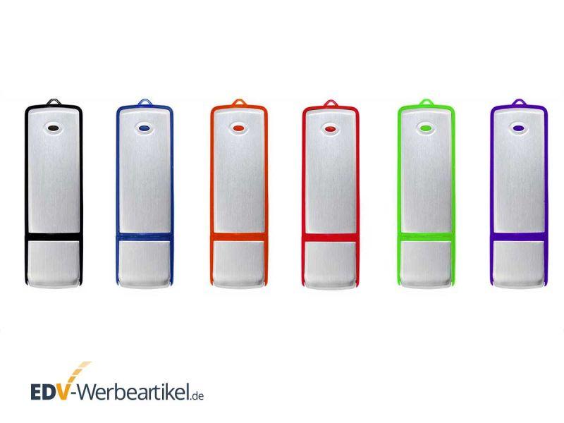 USB Stick SIMPLE ALU ONE Aluminium gebürstete Oberfläche - Farbwahl