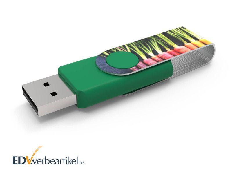 USB Stick TWISTER FULL PRINT als Werbegeschenk