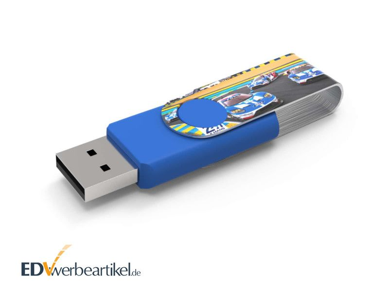 USB Stick TWISTER FULLPRINT mit Logo