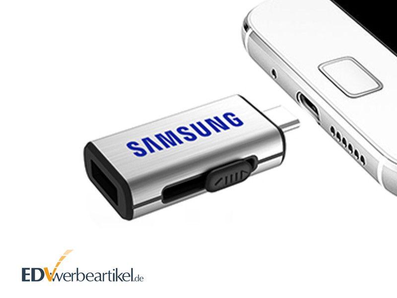 Werbeartikel USB Stick Typ C mit Logo bedrucken