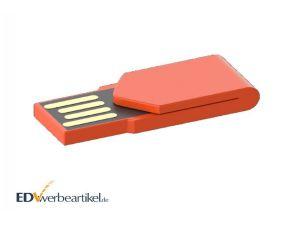 USB Stick mit Klammer als Büro-Werbeartikel mit Logo bedrucken