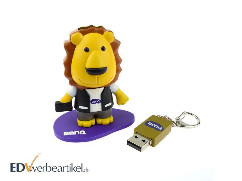 Lustiger USB Stick 3D in eigener Sonderform gestalten