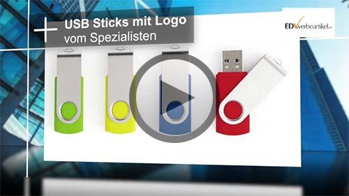 Wir bedrucken USB Sticks Werbeartikel mit Ihrem Logo