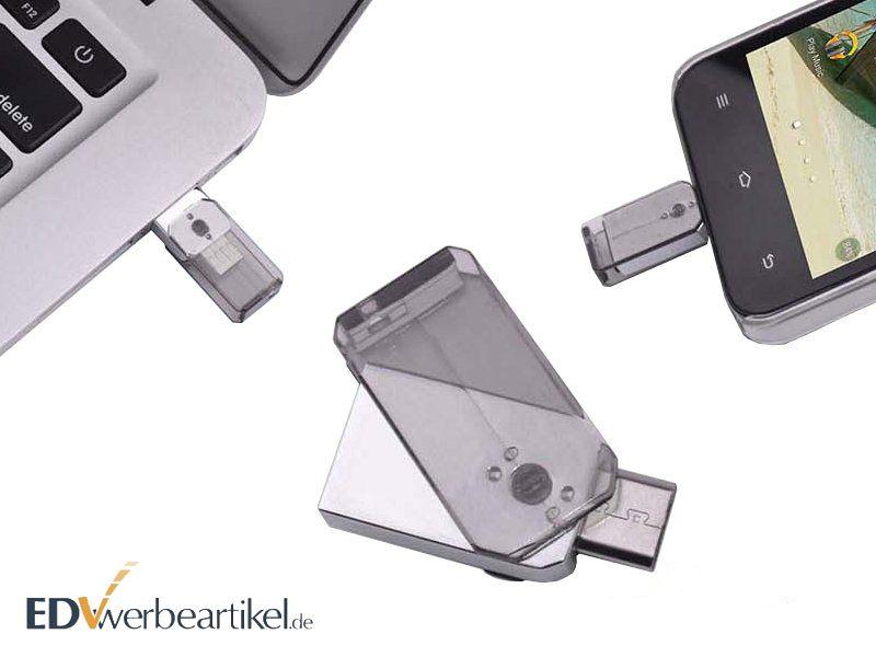 Dual USB Flash Drive OTG Werbeartikel