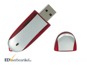 USB Stick Werbeartikel mit Logo bedrucken Simple Alu TWO