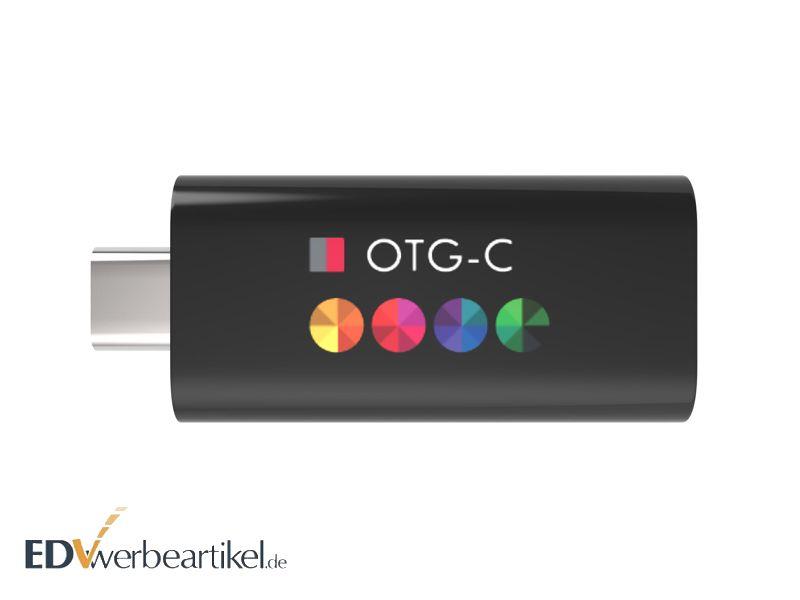 USB Stick Typ C HIDE Logodruck