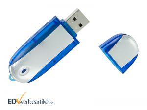 USB Stick Werbegeschenk mit Logo bedrucken Simple Alu TWO