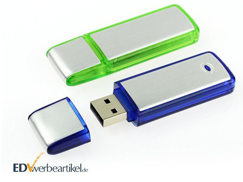 USB Stick Werbemittel bedrucken Simple Alu ONE
