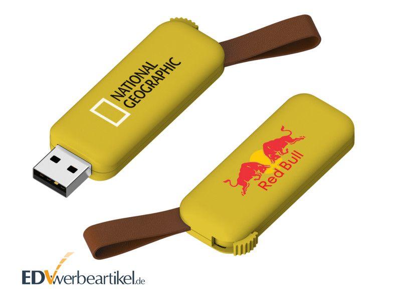 USB Stick Werbung RODEO - gelb