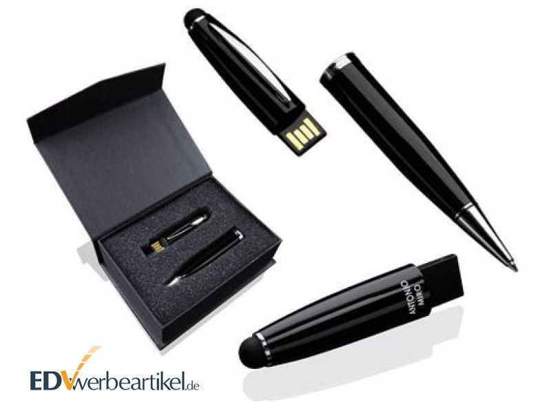 Metall USB Kugelschreiber als Werbegeschenk von Antonio Miro